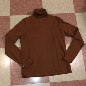 Ralph Lauren brown turtleneck sweater small